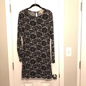 MICHAEL KORS | Long Sleeve Dress